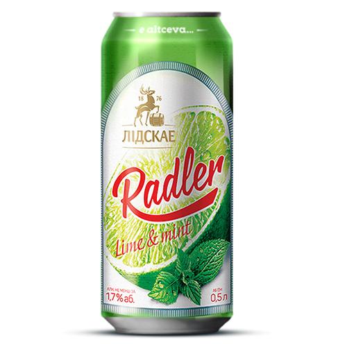 Радлер Лайм, 0,5л ж/б