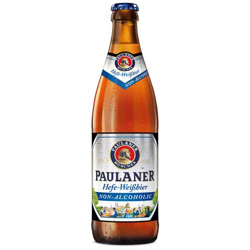 Пауланер Хефе-Вайсбир ,безалкогольное стекл.