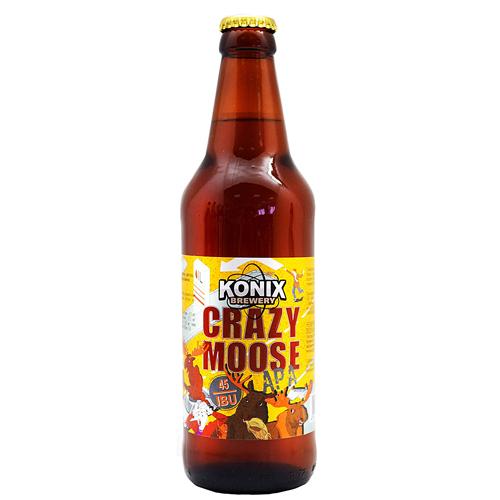 Сумасшедший лось Crazy Moose Эль