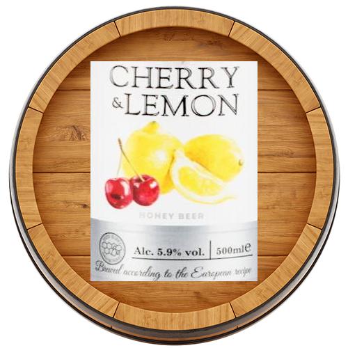 Медовуха со вкусом Вишни и Лимона акция