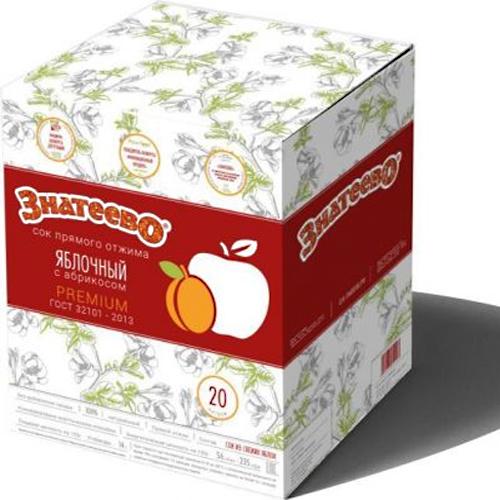 Яблочно-абрикосовый прямого отжима