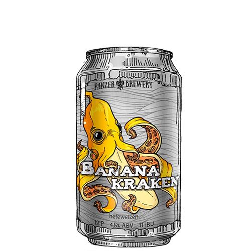 Banana Kraken (пшеничное) ж/б
